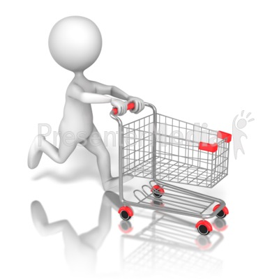 Cart clipart animated Clipart ID# Shopping Cart 13332