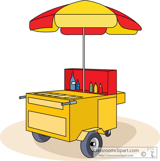 Cart clipart animated #9884 pictures Search hot dog