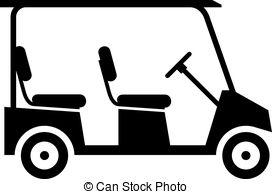 Cart clipart art Artby Golf Golf Art golf