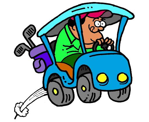Cart clipart art 150 Golf Library Cart Clip
