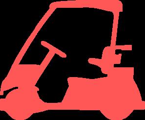 Cart clipart art Art Golf vector at Cart