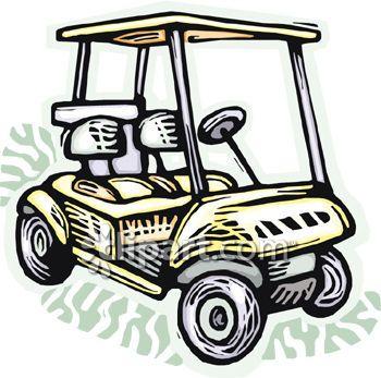 Golf Course clipart golf buggy #10