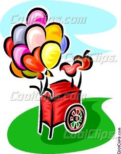 Cart clipart balloon Balloon Vector Clip cart cart