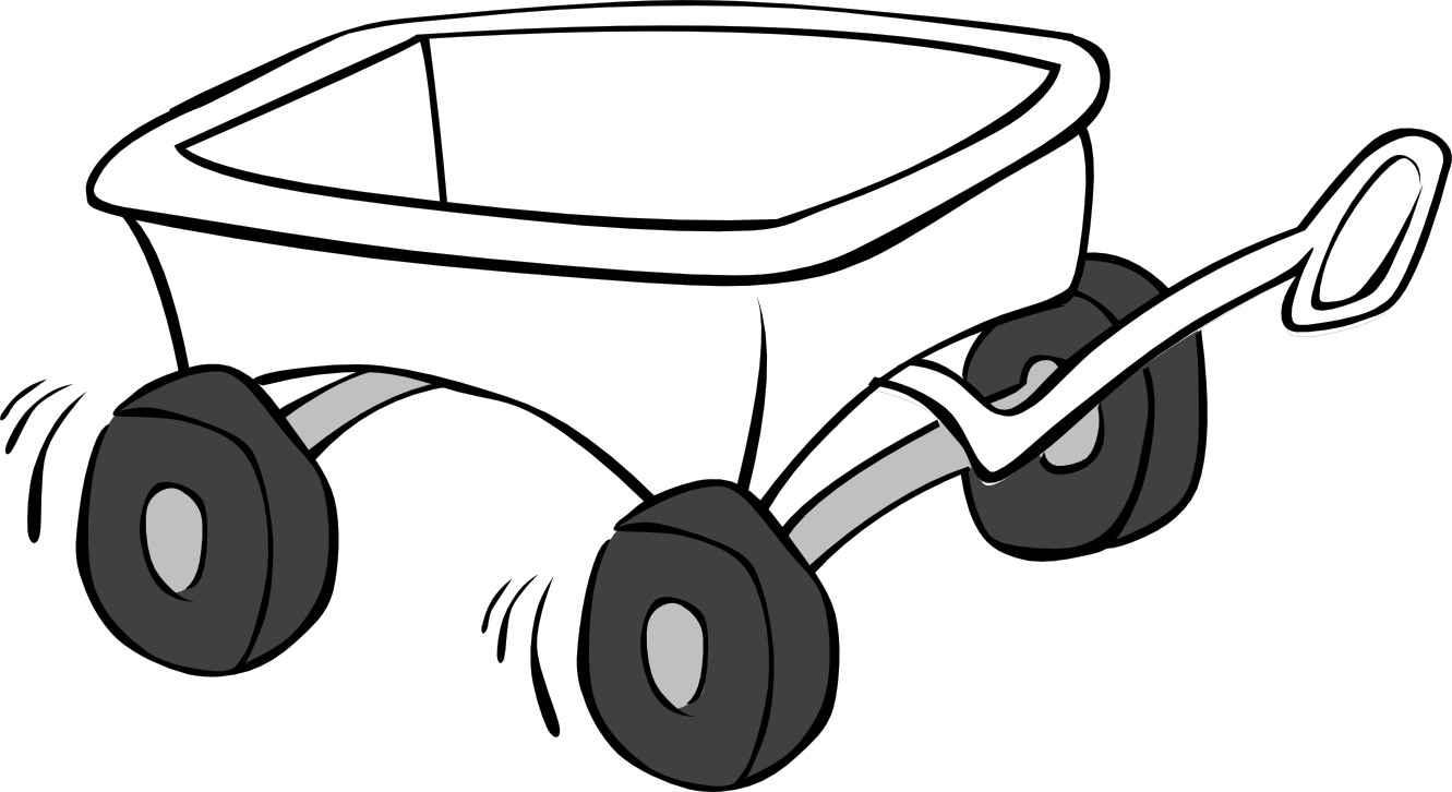 Cart clipart black and white Panda Clipart Clipart Images And