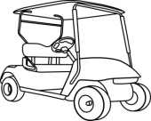 Cart clipart black and white White Panda Cart Free