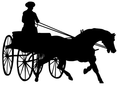 Cart clipart carriage horse Horse Horse Horse clipart and