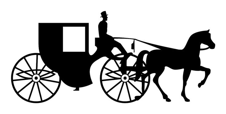 Cart clipart carriage horse Vehicles Clipart Amish cart horse