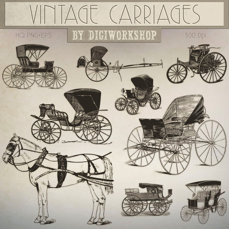 Cart clipart carriage horse Carriage  stagecoach carriages contains