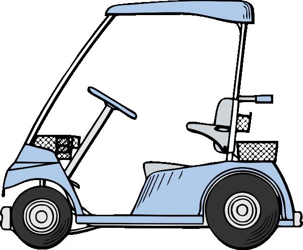Golf Course clipart golf buggy #1