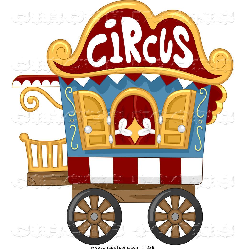Cart clipart circus Circus BNP White Cart by