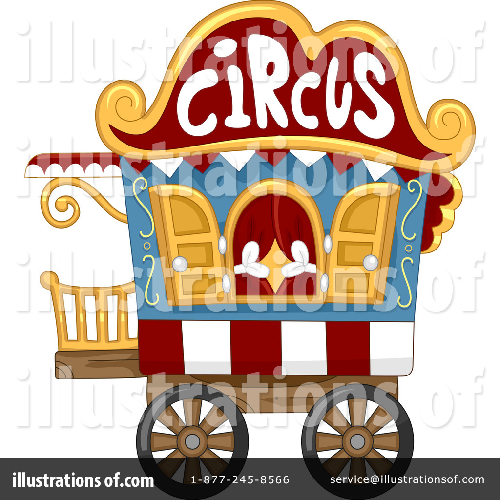 Cart clipart circus Clipart Circus Illustration Sample by