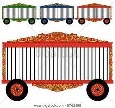 Cart clipart circus Collection wagon on Animal Wagon
