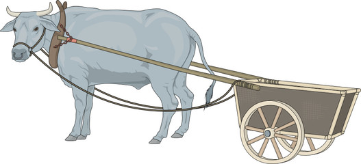Cart clipart cow Of Search MENZAGO vector by
