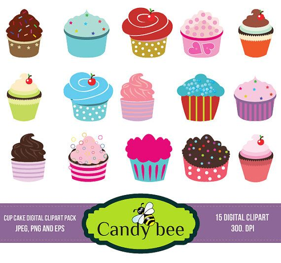 Cart clipart cupcake Arts Clipart this on best