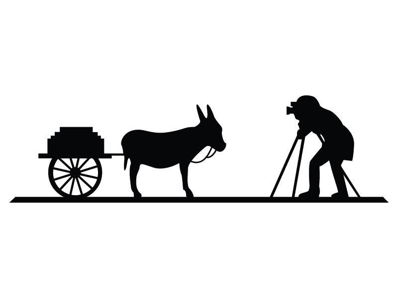 Cart clipart donkey cart Donkey logo cart & cart
