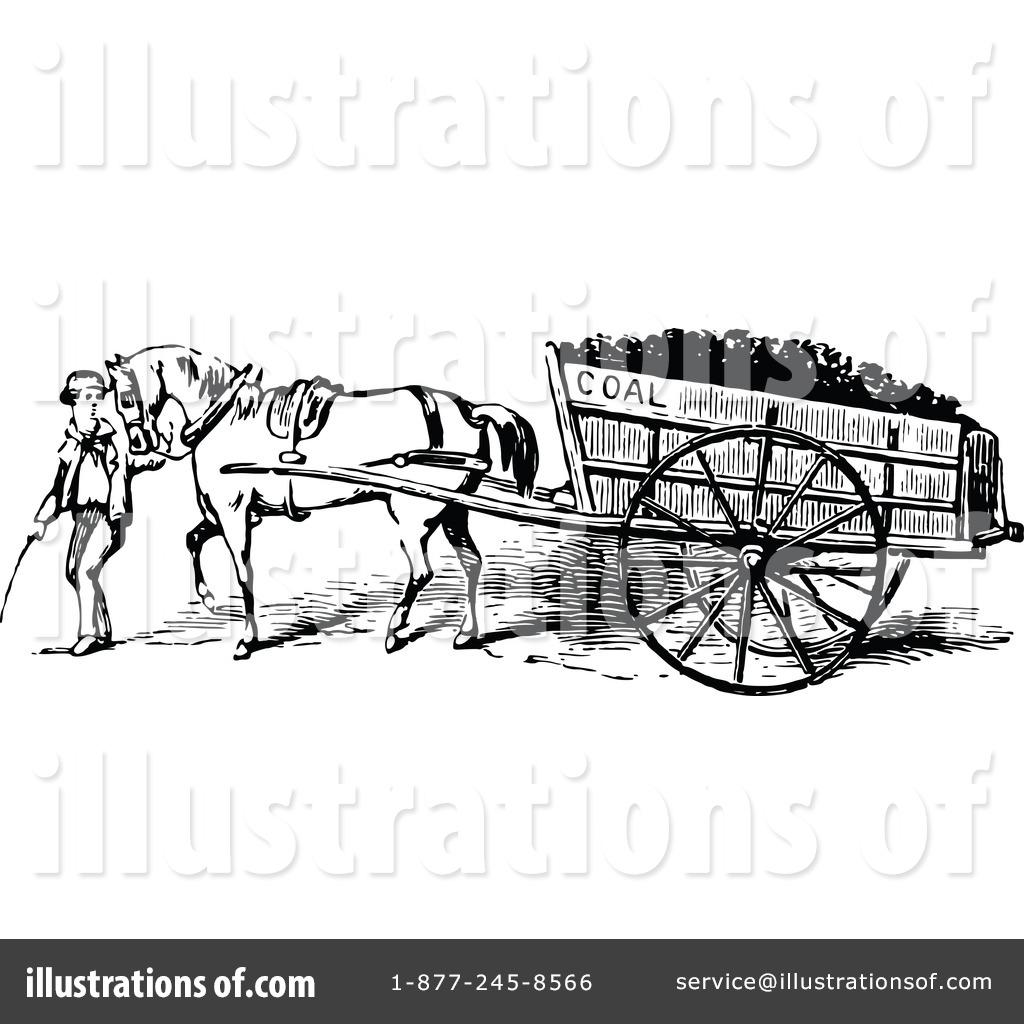 Cart clipart donkey cart Illustration Prawny Royalty #1121122 by