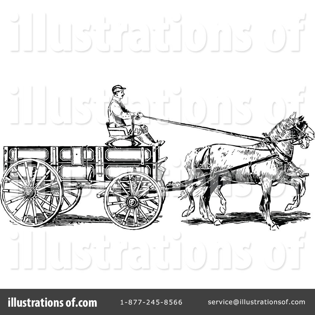 Cart clipart donkey cart Illustration Prawny Royalty #1121138 by