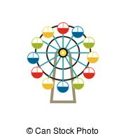 Ferris Wheel clipart mini Wheel cabin shade picture Clip