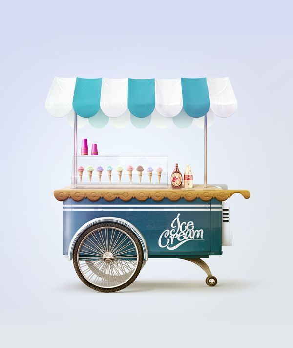 Cart clipart food booth Best via Tovt Pinterest Food