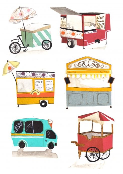 Cart clipart food booth On Carts Booths best Trucks