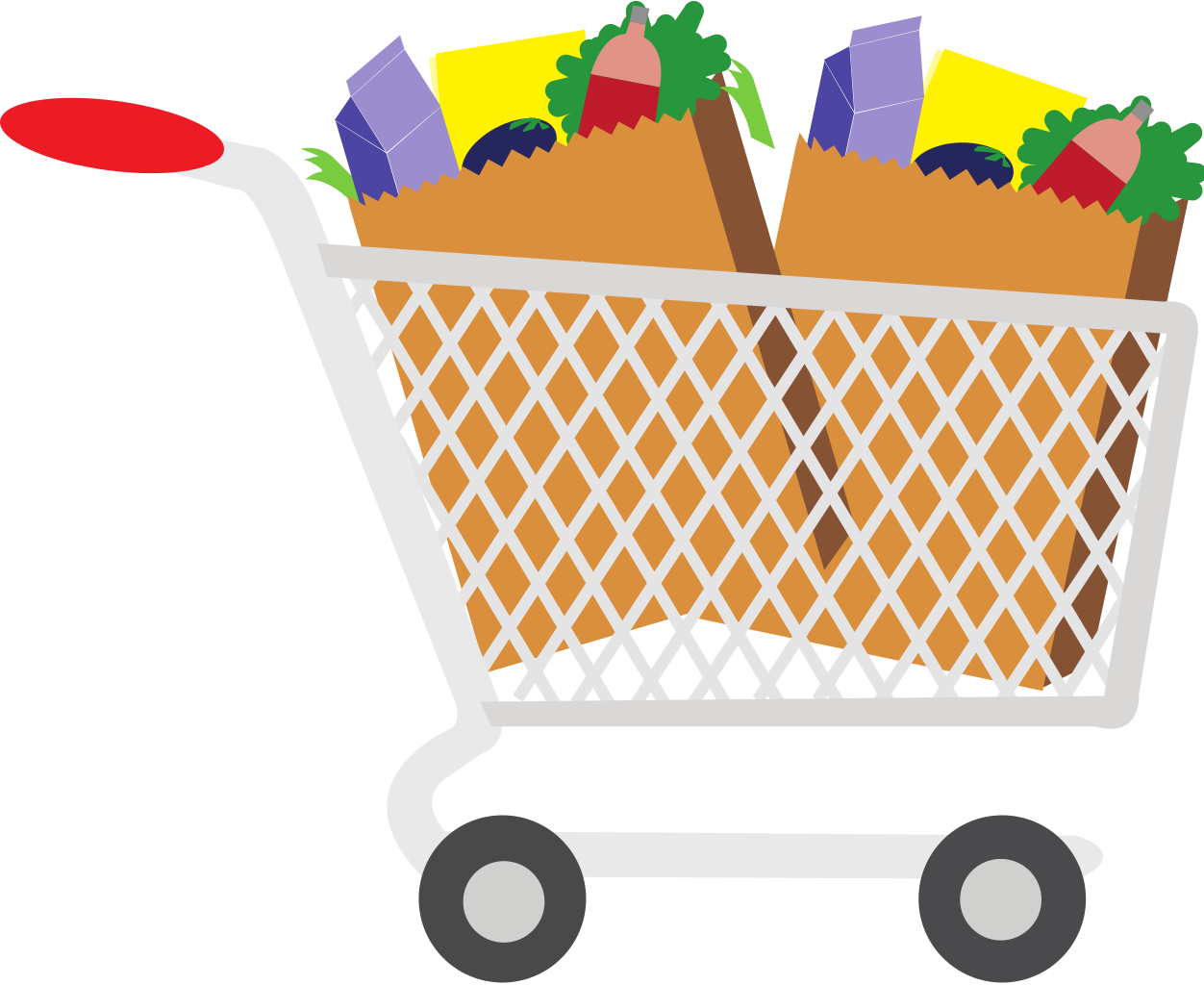 Bag clipart grocery basket Art grocery%20clipart Clipart Groceries Images