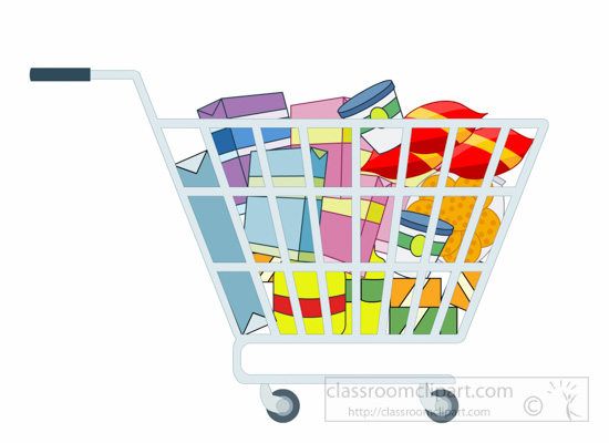 Bag clipart grocery basket Of shopping Pictures Kb Clipart