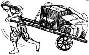 Cart clipart hand cart Clipart « Pioneer Clipart #17345