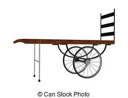 Cart clipart hand cart Images 3D vintage digital cart