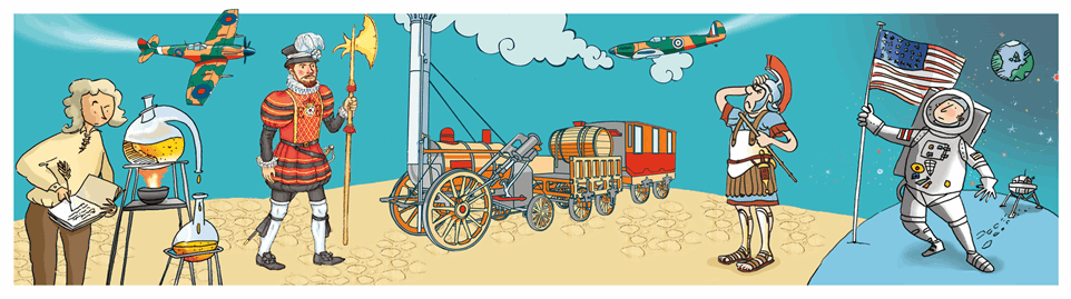 Cart clipart history History Usborne books illustration History