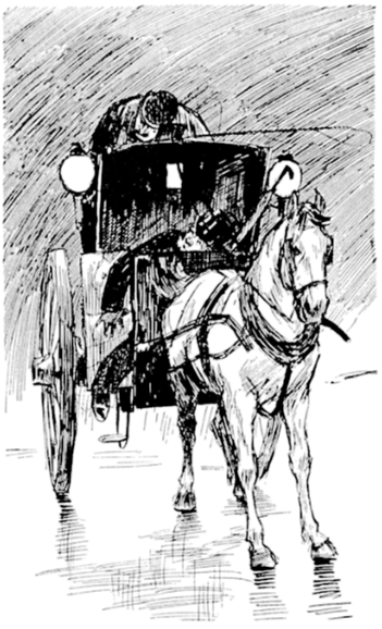 Cart clipart horse vehicle Clip Carriage Carriage Pulling Horse