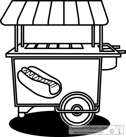 Cart clipart hot dog Clipart Free Clipart And Clipart