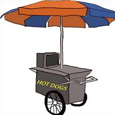Cart clipart hot dog Clipart Dog Free Cart Dog