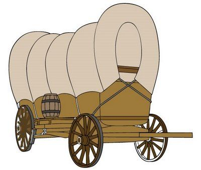 Cart clipart lds Mormon Primary pioneer Search 51