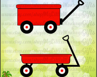 Cart clipart little red wagon Wagon ~ red Kids Kids