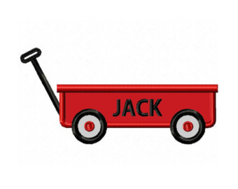 Cart clipart little red wagon NO Machine Little Etsy DESIGN