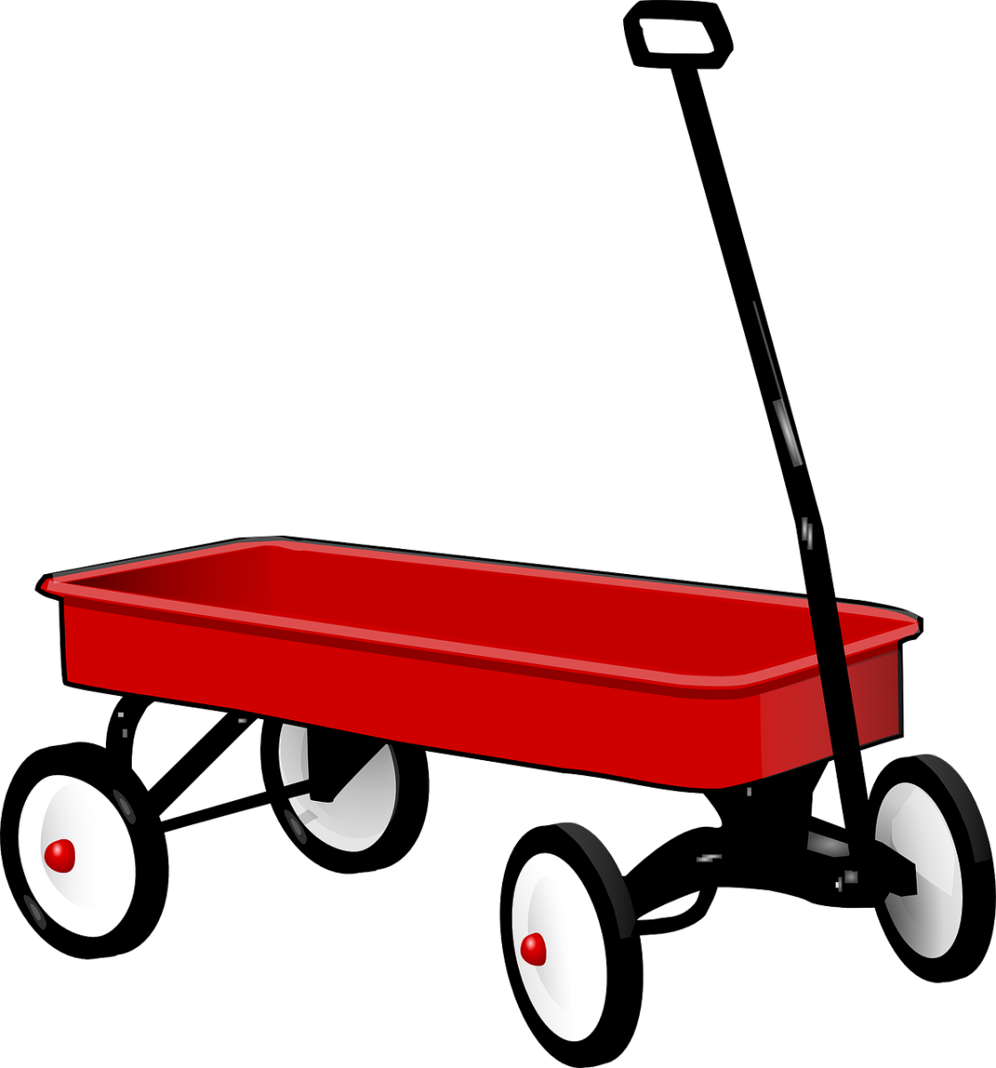 Cart clipart little red wagon Red 1/5/16 Write Little Writing