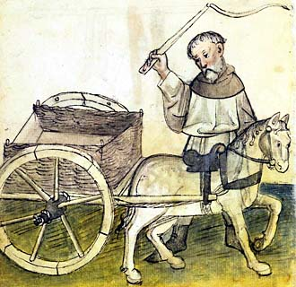 Cart clipart medieval The which only is evidently