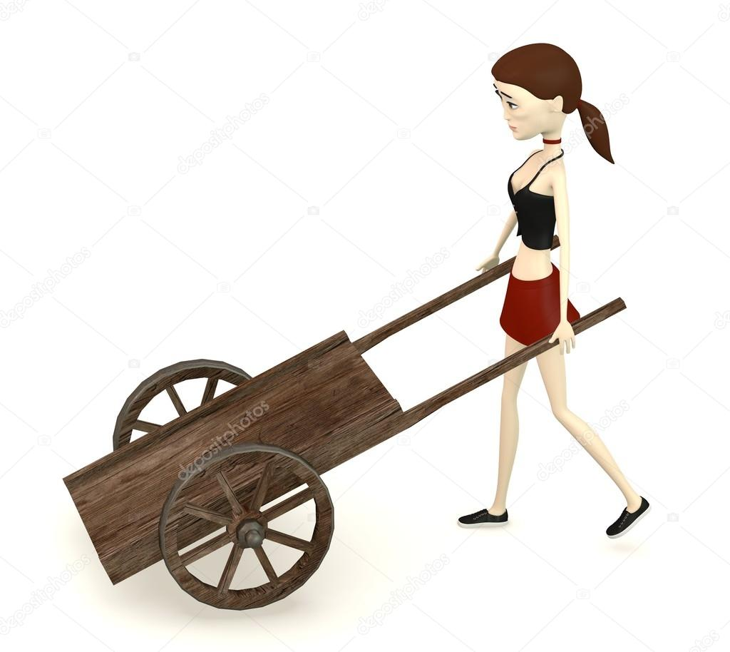 Cart clipart medieval Photo with character cart cart