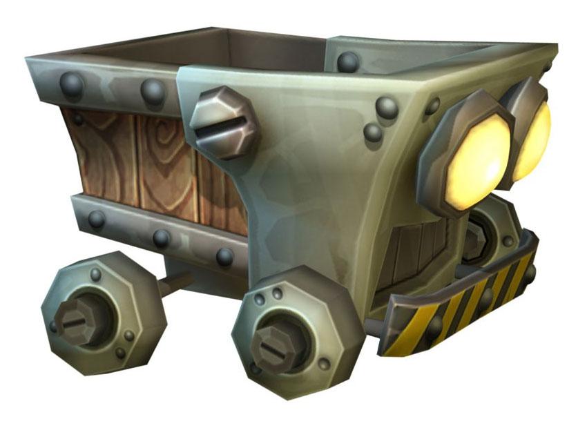Cart clipart mine cart Donkey Returns Country Kong Mine