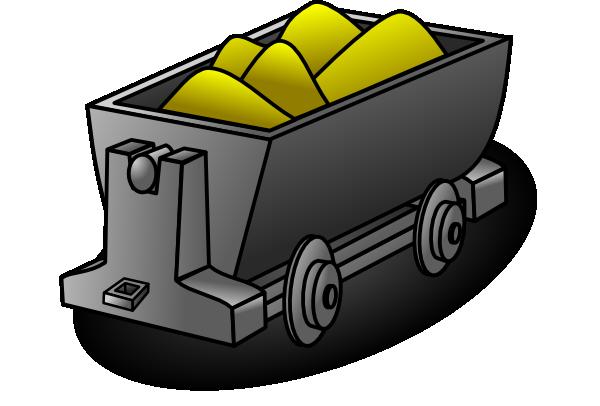 Cart clipart mine cart As: Art  Clip Cart