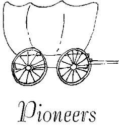 Cart clipart pioneer handcart  Singing: Primarily Chorister Primary