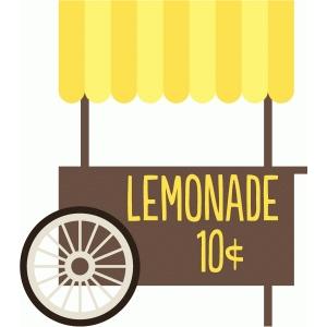 Cart clipart popsicle Design echo lemonade stand Store