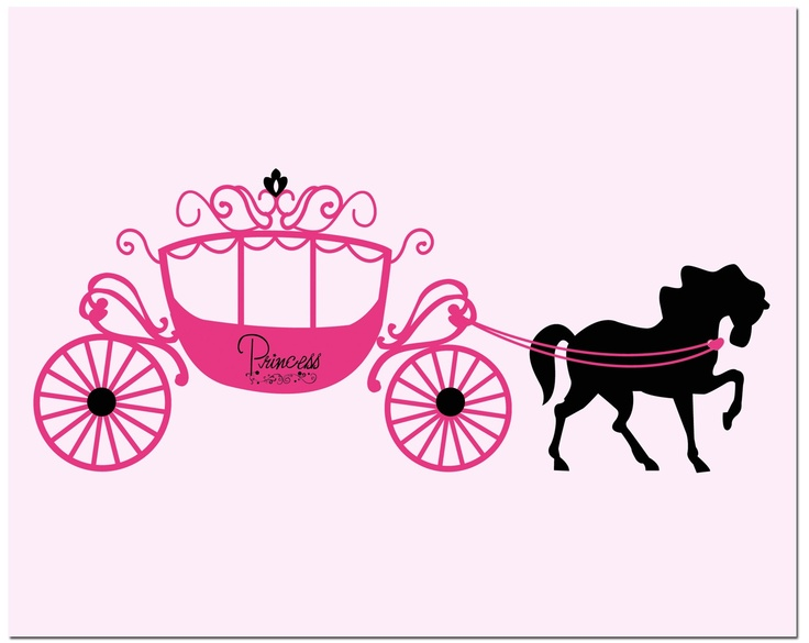 Cart clipart princess Cliparts Royal Zone Clipart Horse