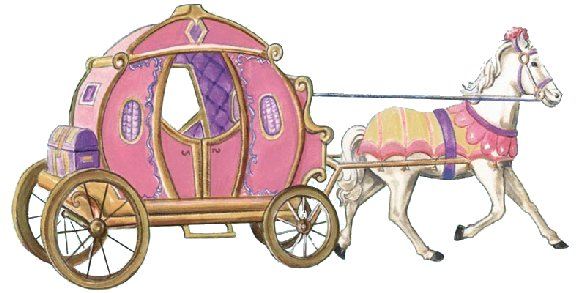 Cart clipart princess Carriage Horse Cliparts carriage Zone