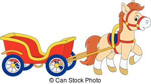 Cart clipart pulled (42+) art Pulling clip Cart