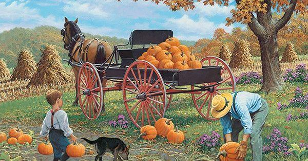 Cart clipart pumpkin picking Picking and Pinterest Autumn Clipart