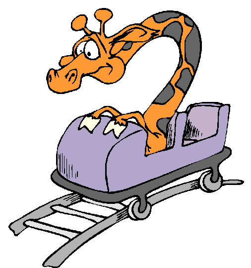 Cart clipart roller coaster Rolleraster coaster Roller rolleraster Roller
