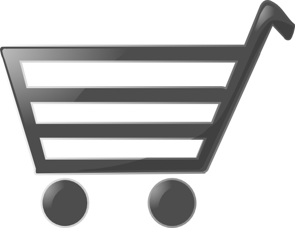 Cart clipart shoping Clip in drawing svg Free