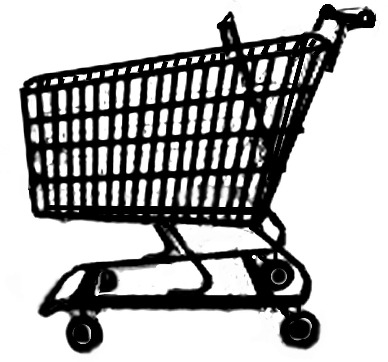 Cart clipart shoping Cart of Clipart  Clip