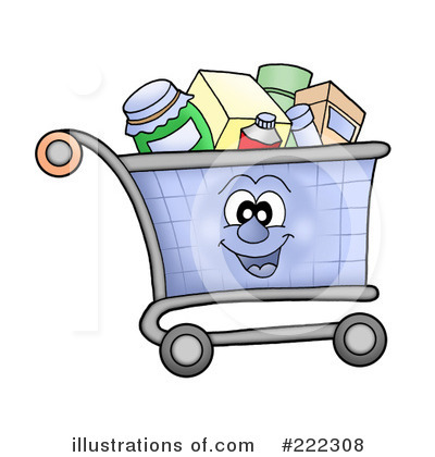 Cart clipart shoping (RF) visekart by #222308 Cart